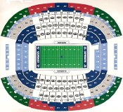 2 Alabama vs Usc Football Tickets Upper Level Ends or Corners